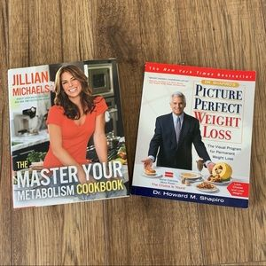 Bundle two weight loss cookbooks/books